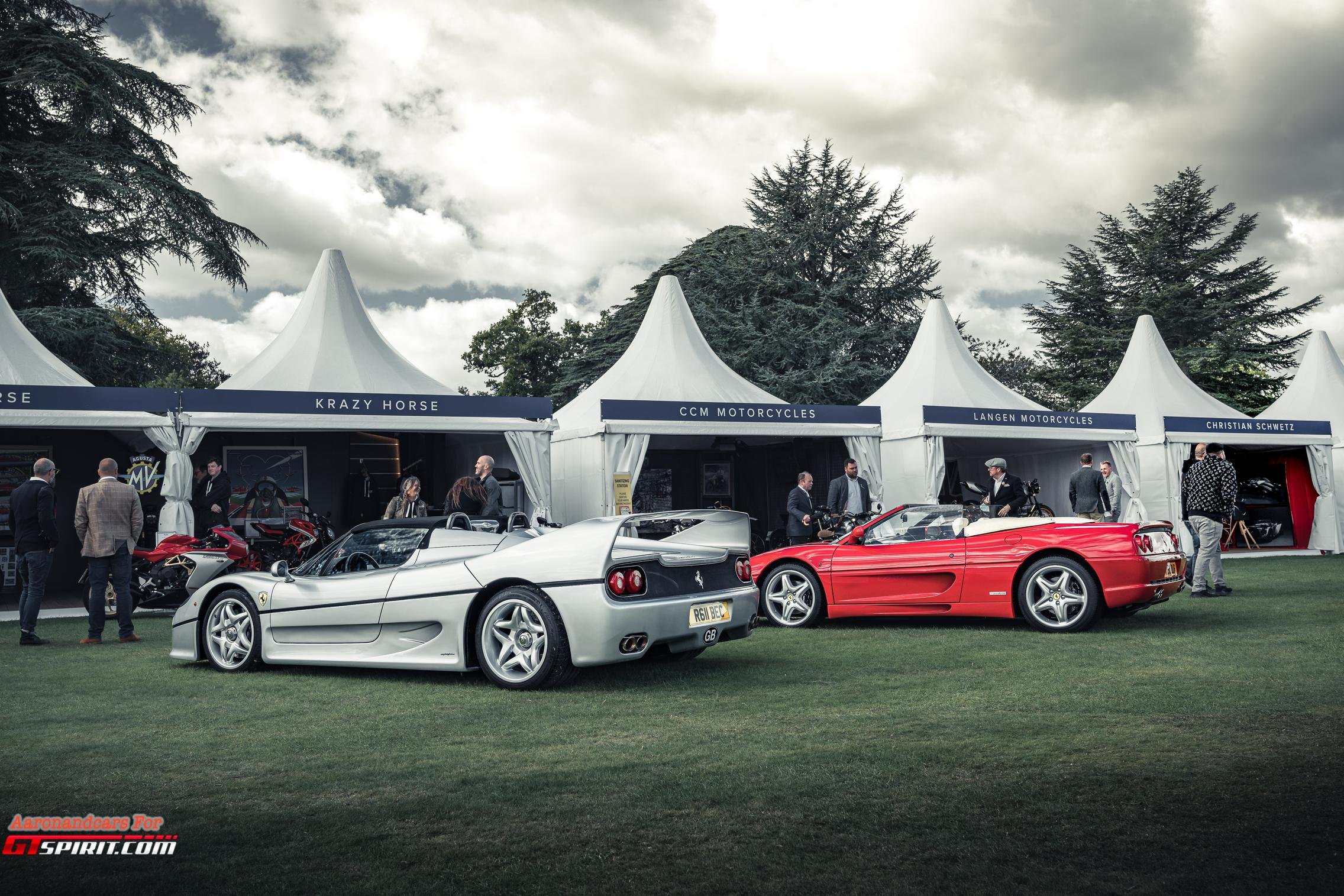 Salon Prive 2020 Ferrari F50