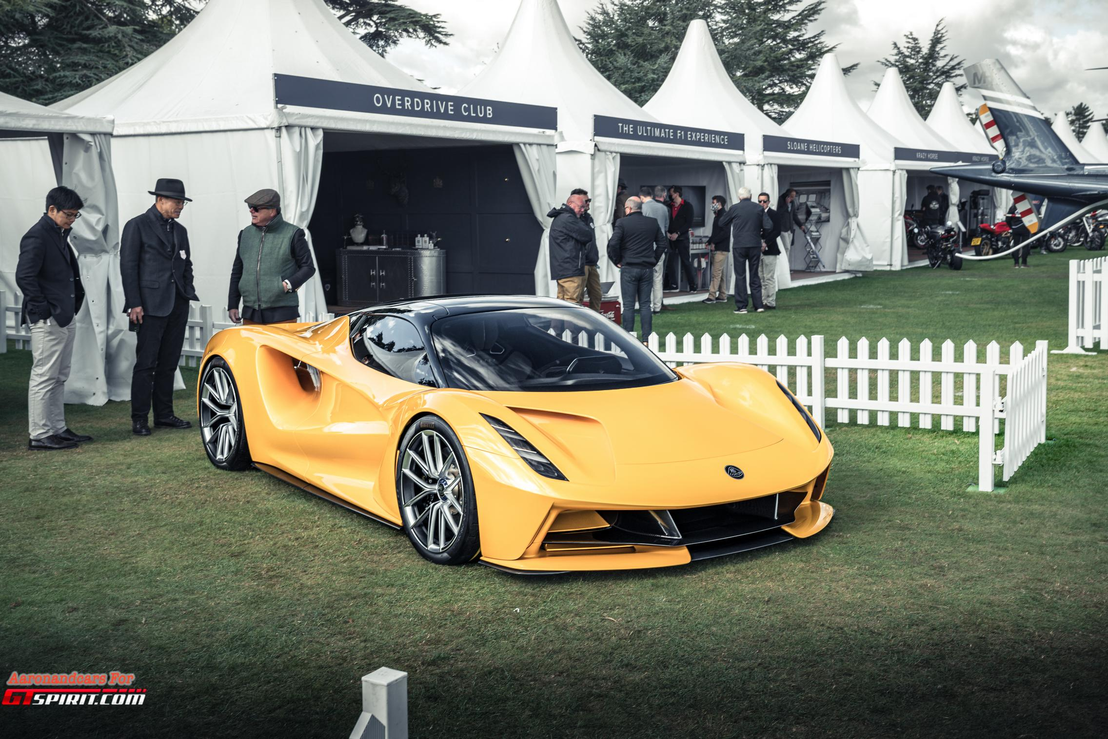 Salon Prive 2020 Lotus Evija