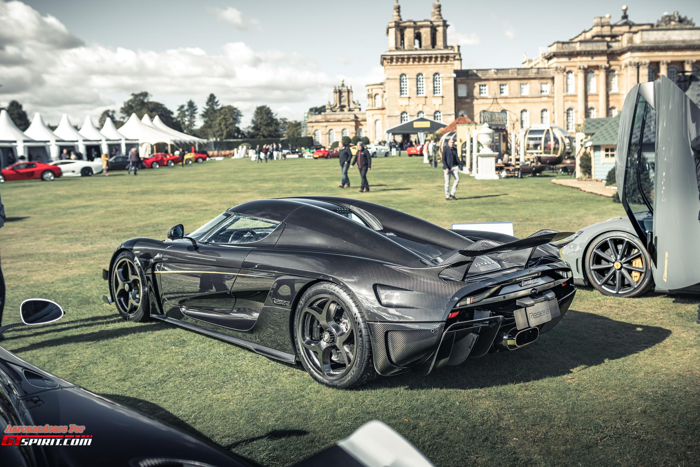Salon Prive 2020 Regera Carbon