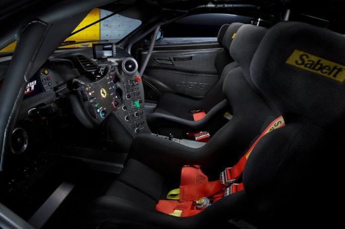 Ferrari 488 GT Modificata interior