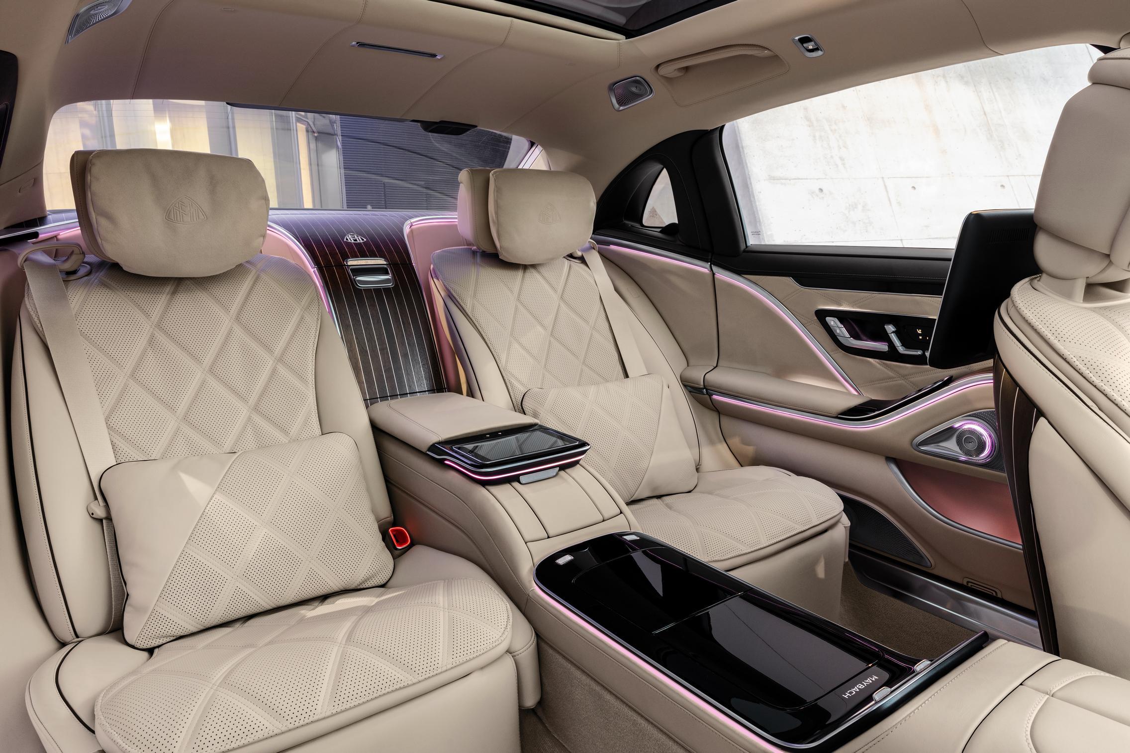 2021 Mercedes-Maybach S-Class Rear Seats