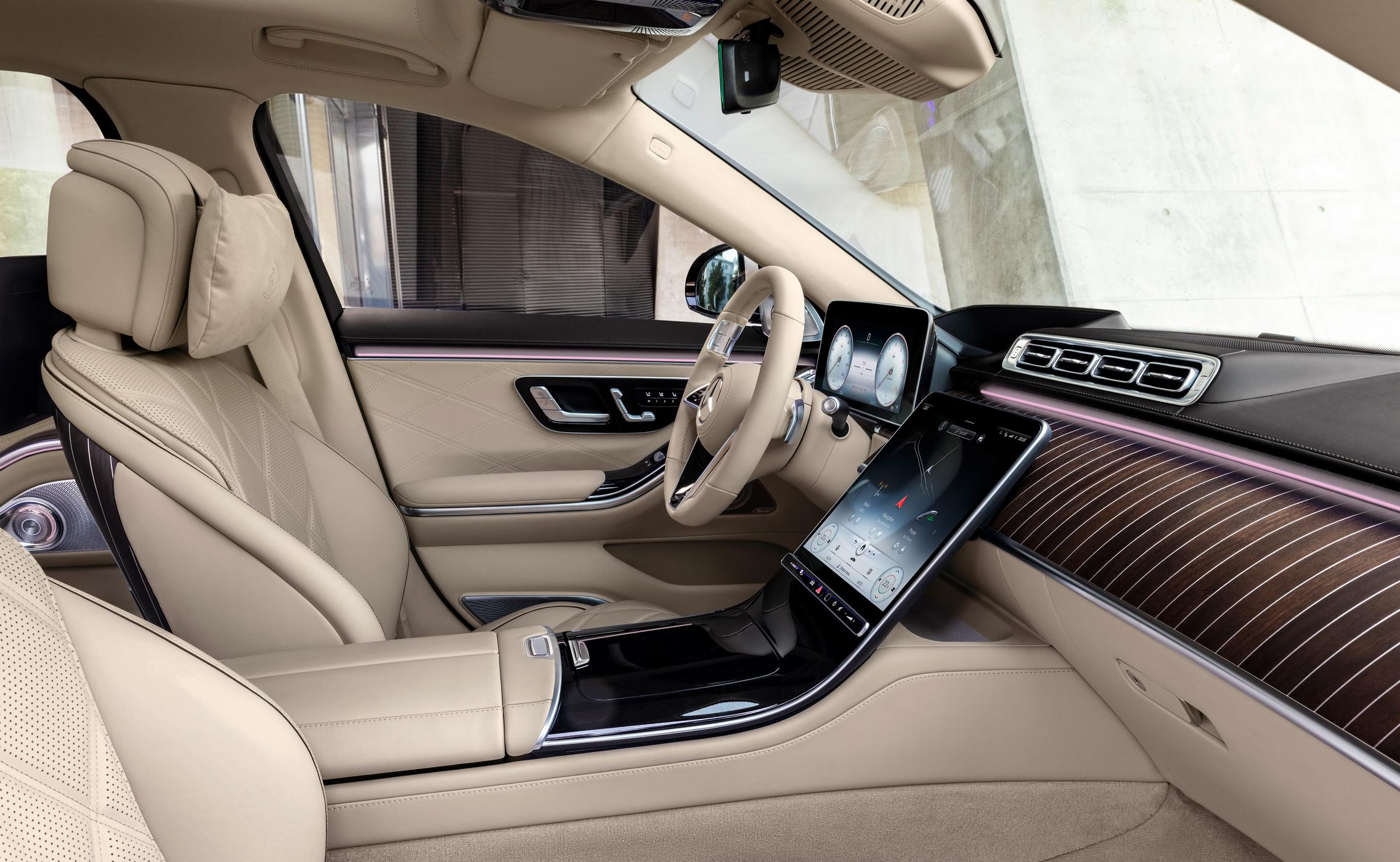 2021 Mercedes-Maybach S-Class Cabin