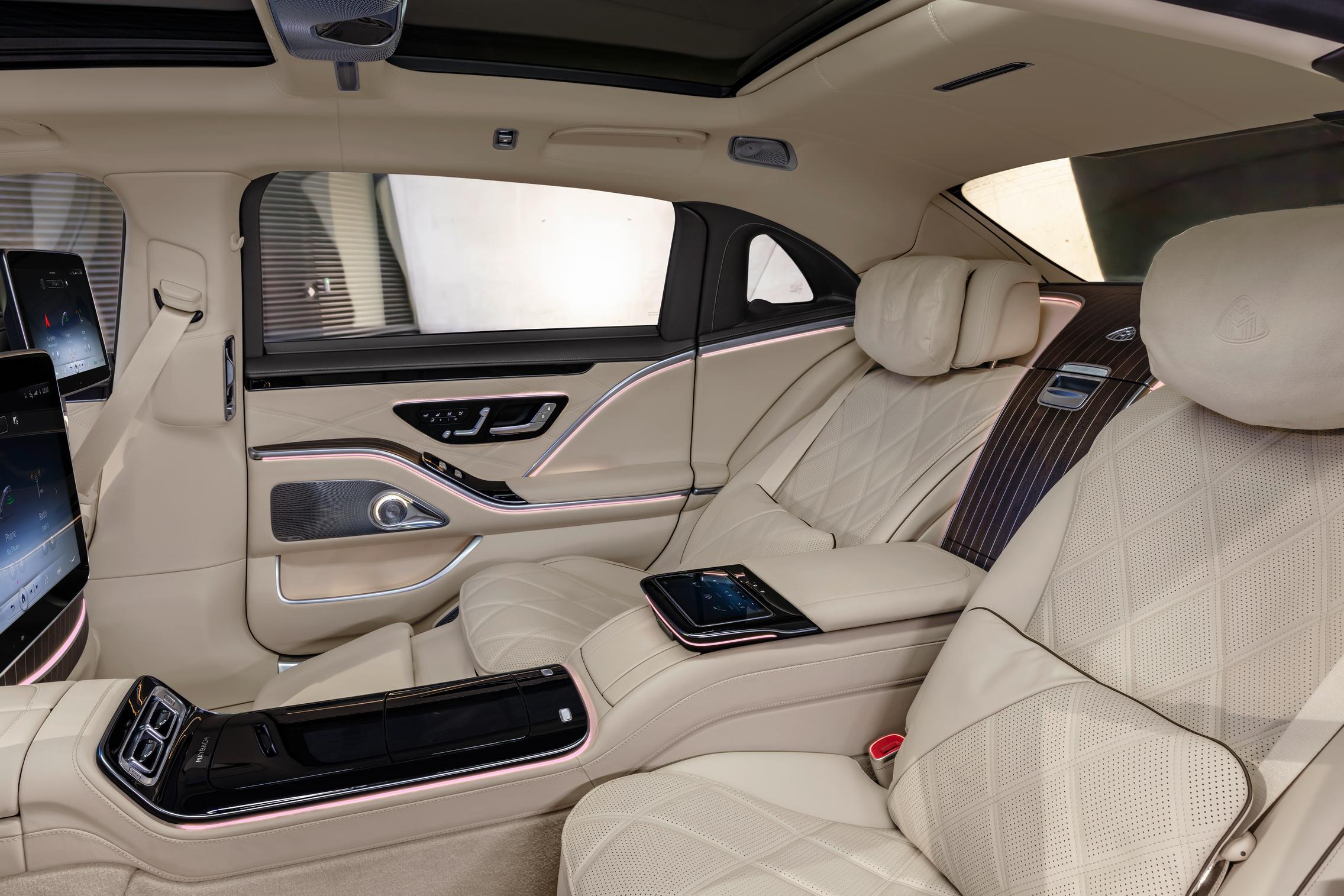 2021 Mercedes-Maybach S-Class Interior