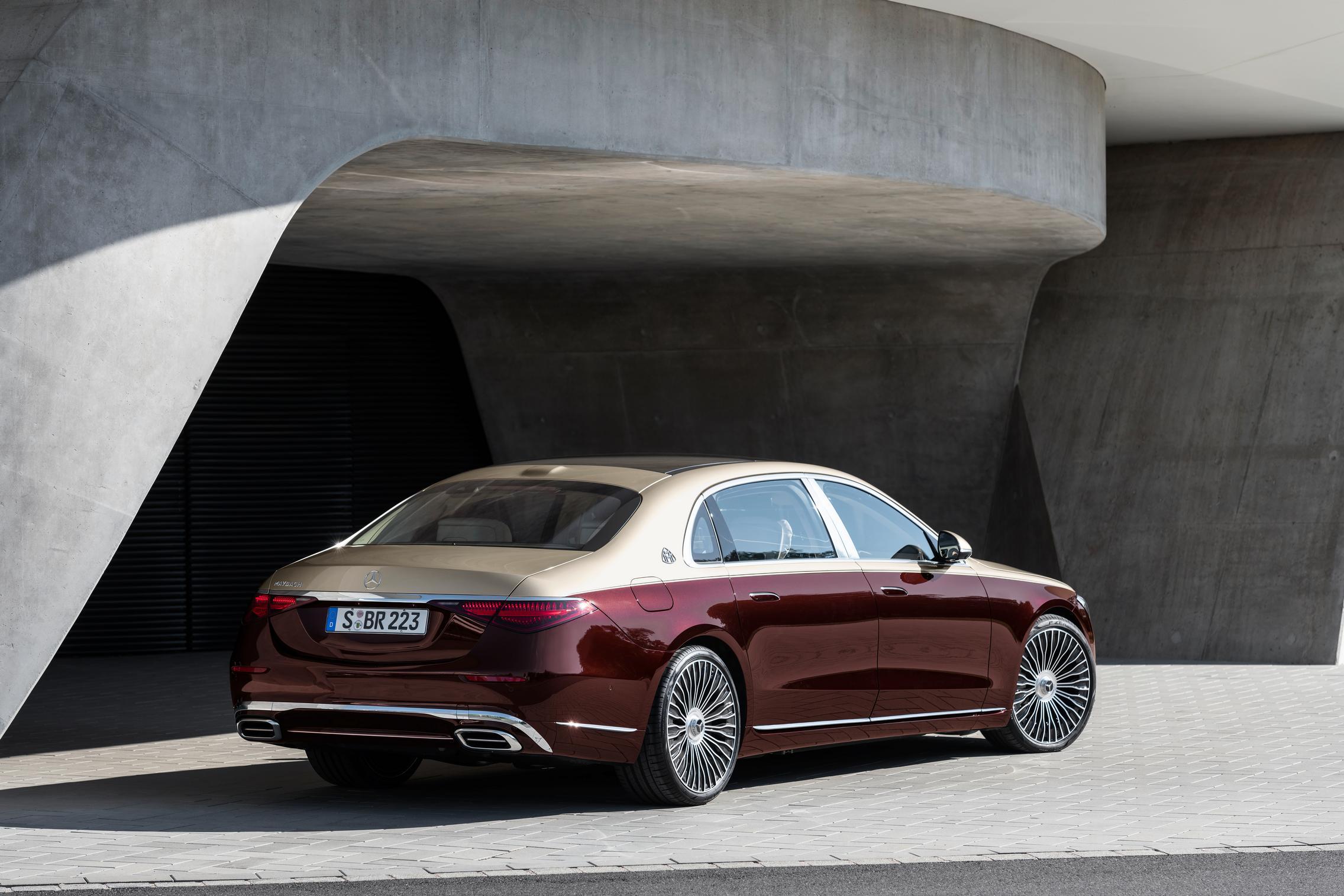 Mercedes-Maybach S-Class Rear Lights