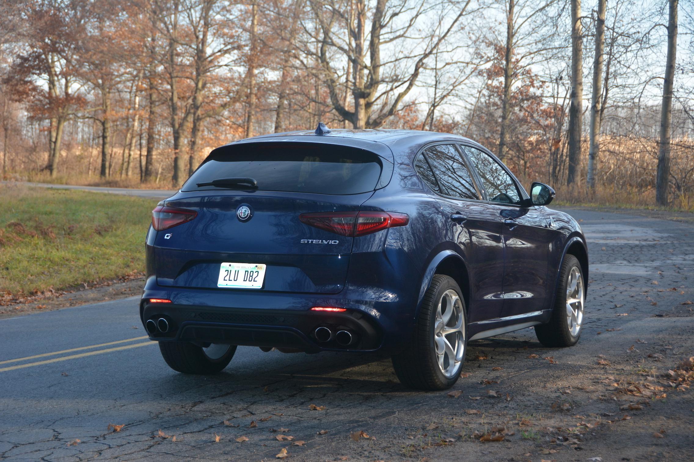 Alfa Romeo Stelvio QV Rear