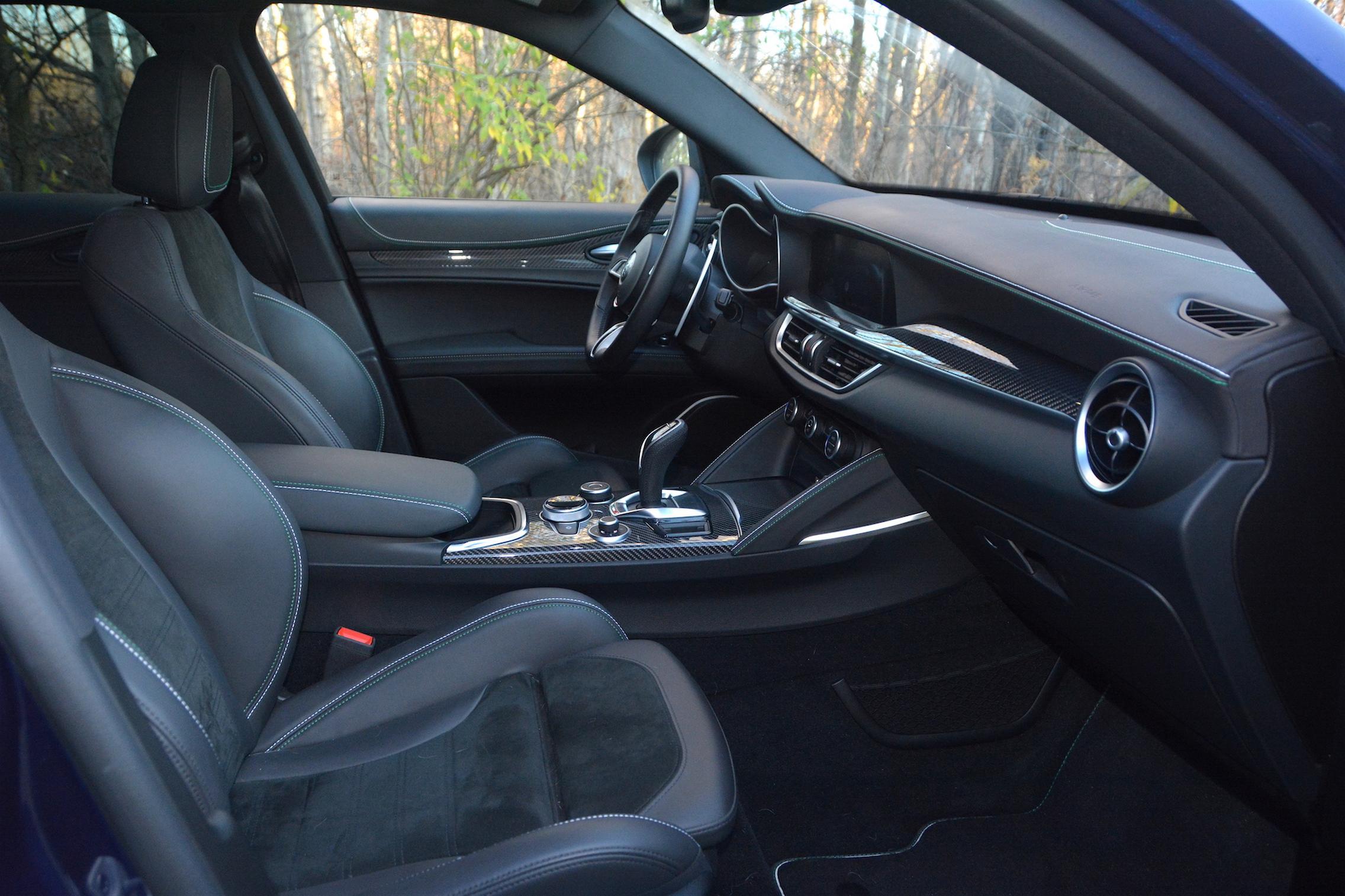 2020 Alfa Romeo Stelvio QV Interior