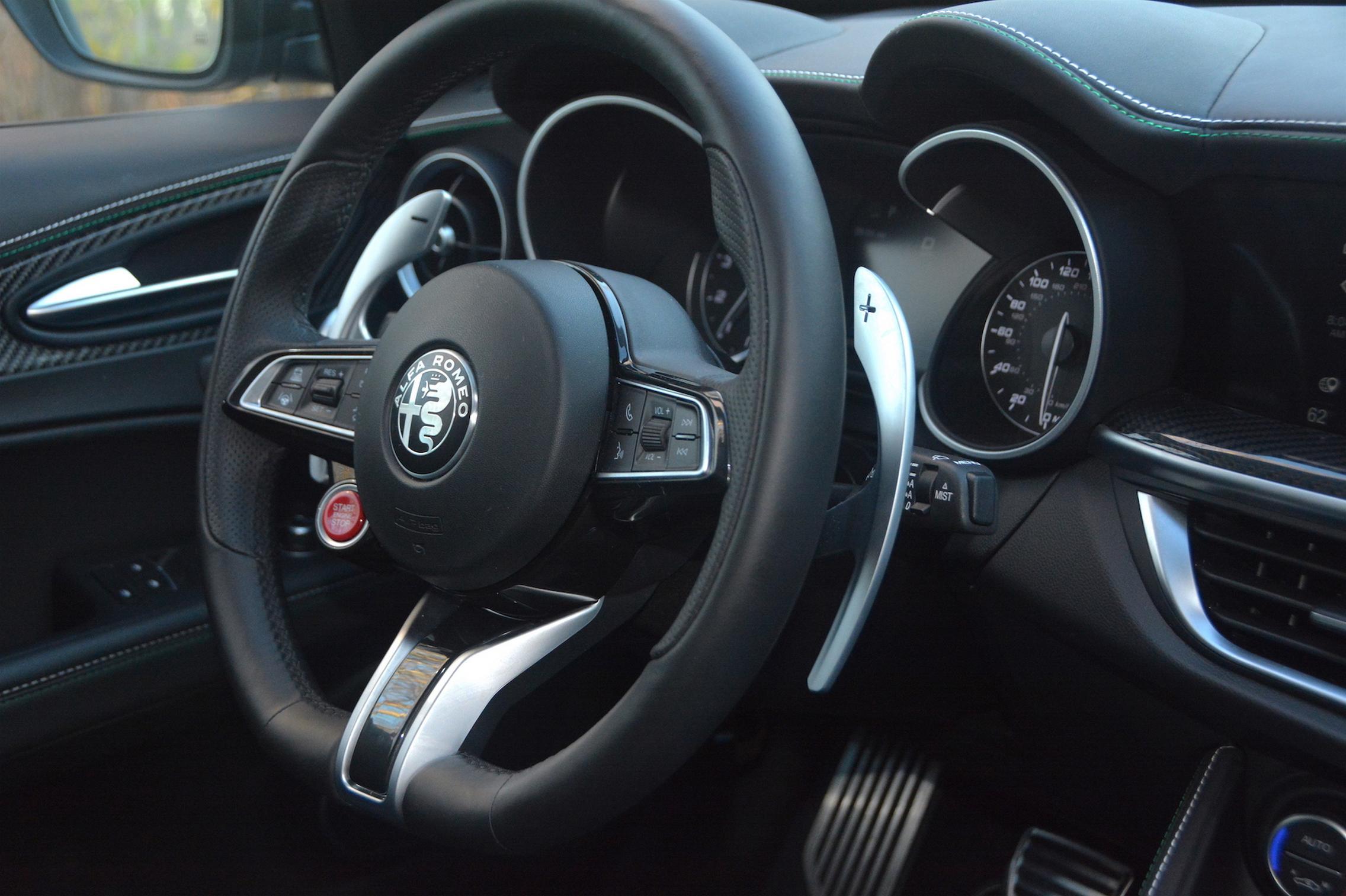 Alfa Romeo Stelvio QV Steering Wheel