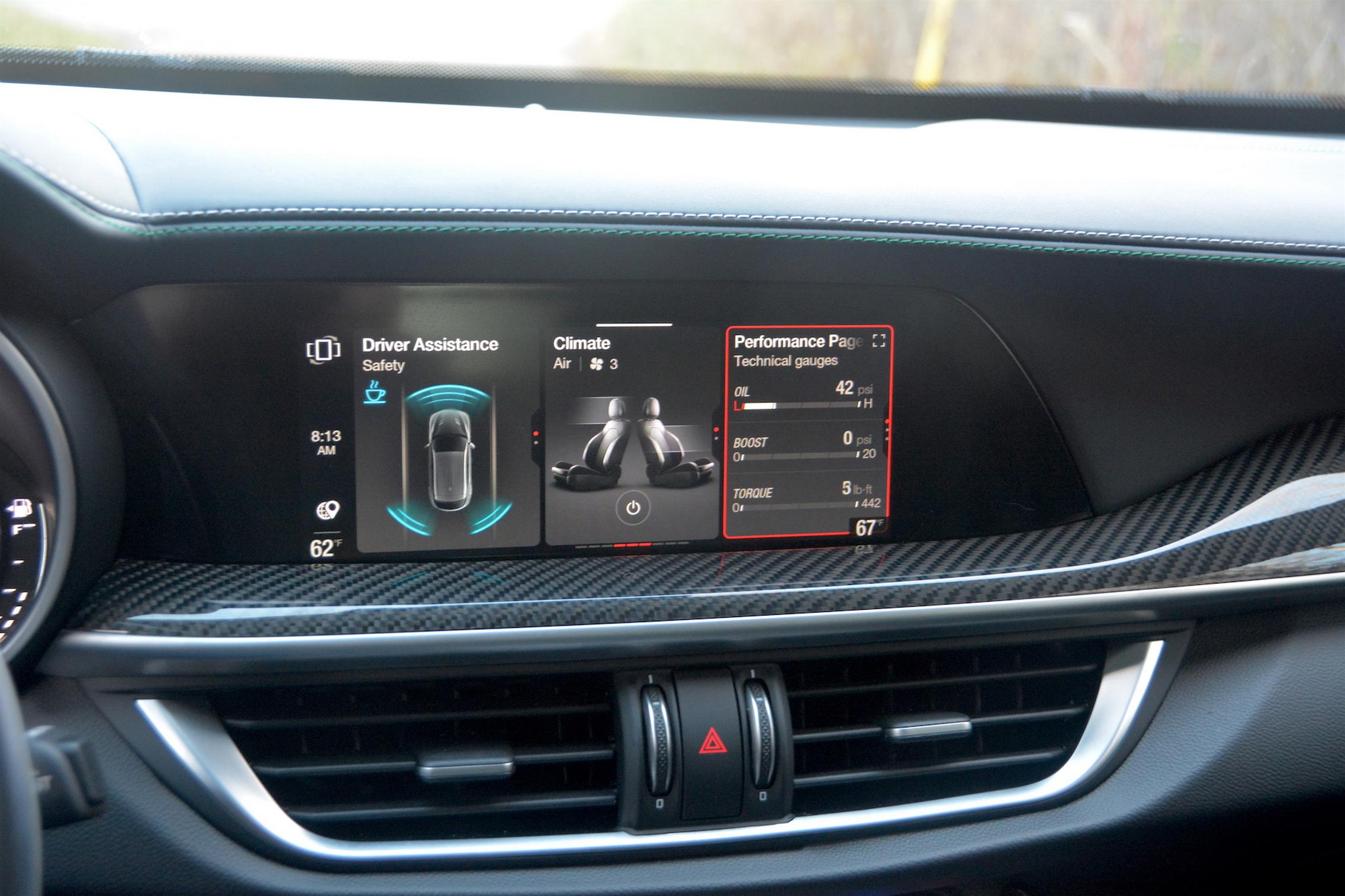 Alfa Romeo Interface