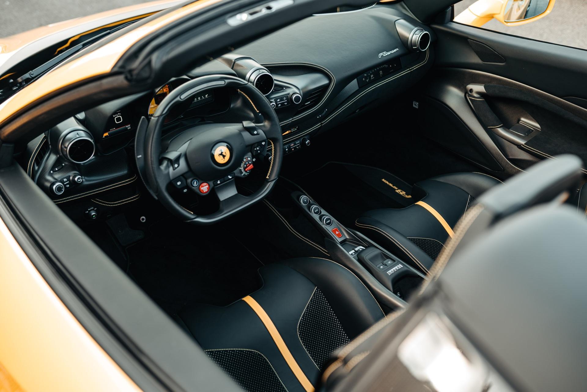 Ferrari F8 Spider Review Roofless Driving Perfection Gtspirit