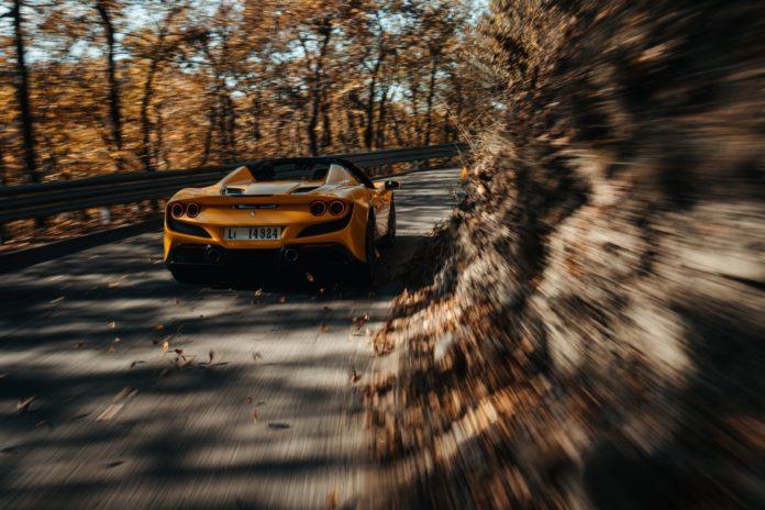 2021 Ferrari F8 Spider Rear