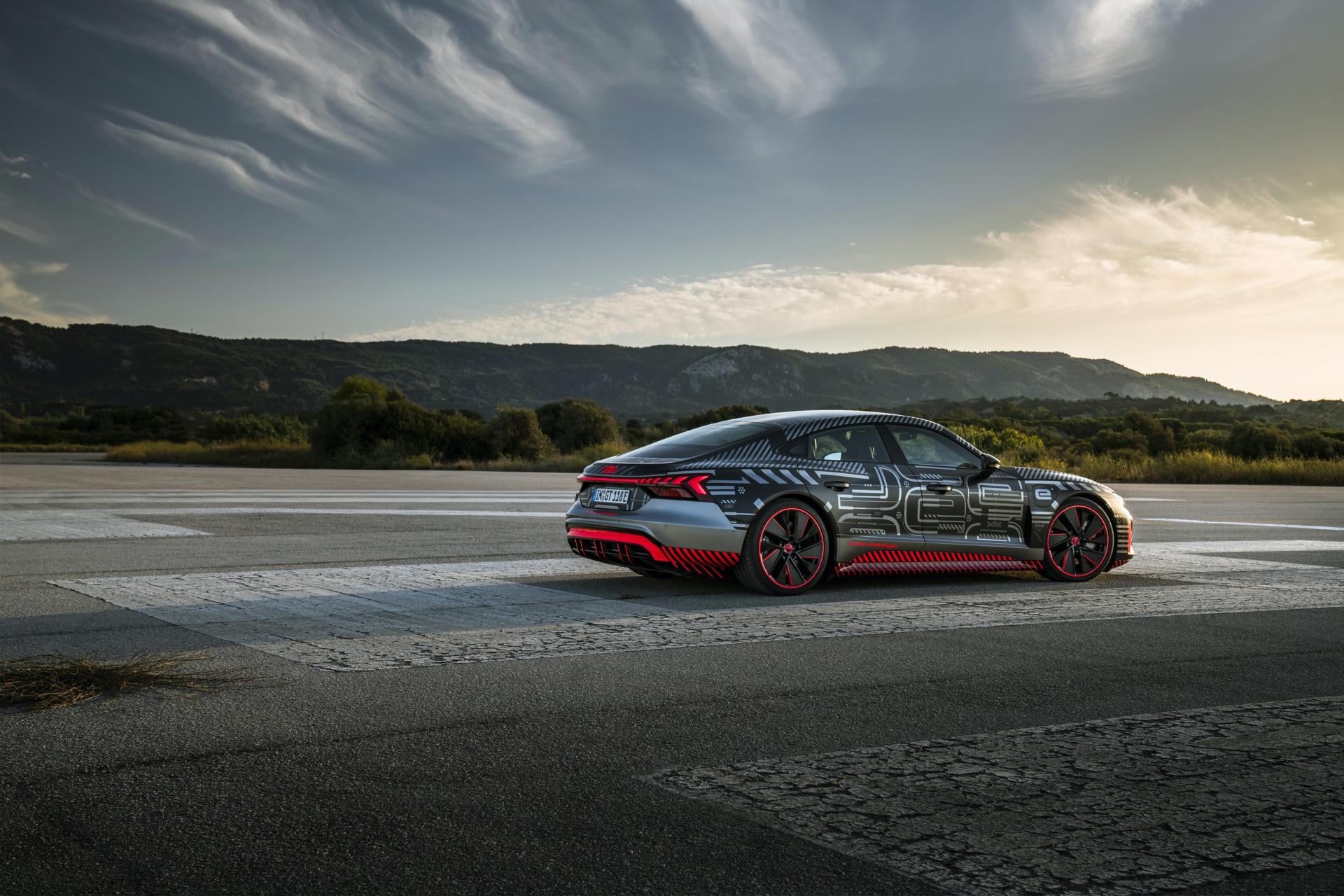 2021 Audi RS e-tron GT Prototype Review - GTspirit