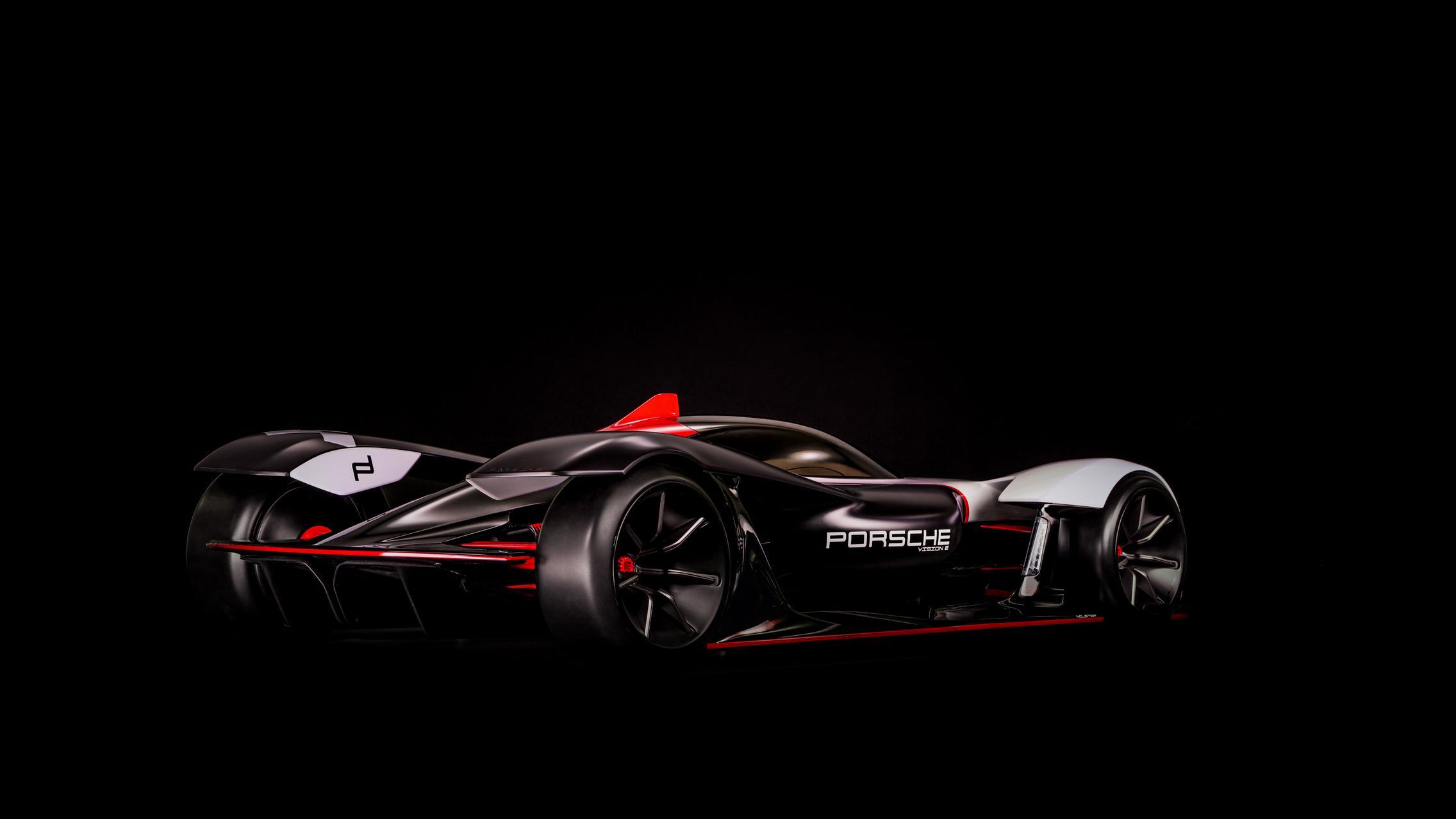 Porsche Vision E Rear