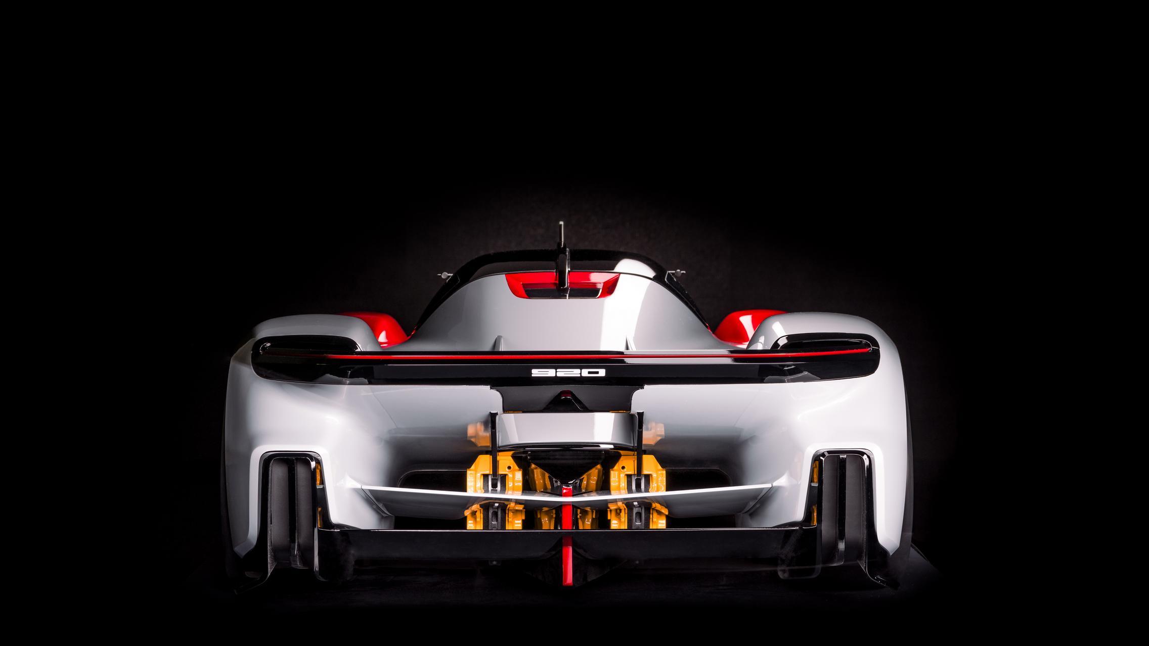 Porsche Vision 920 Rear