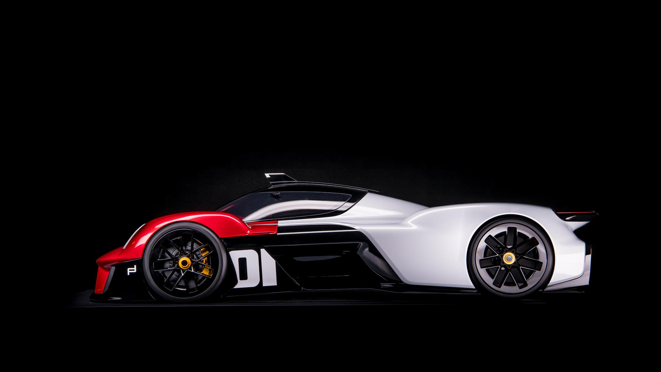 Porsche Vision 920 Side