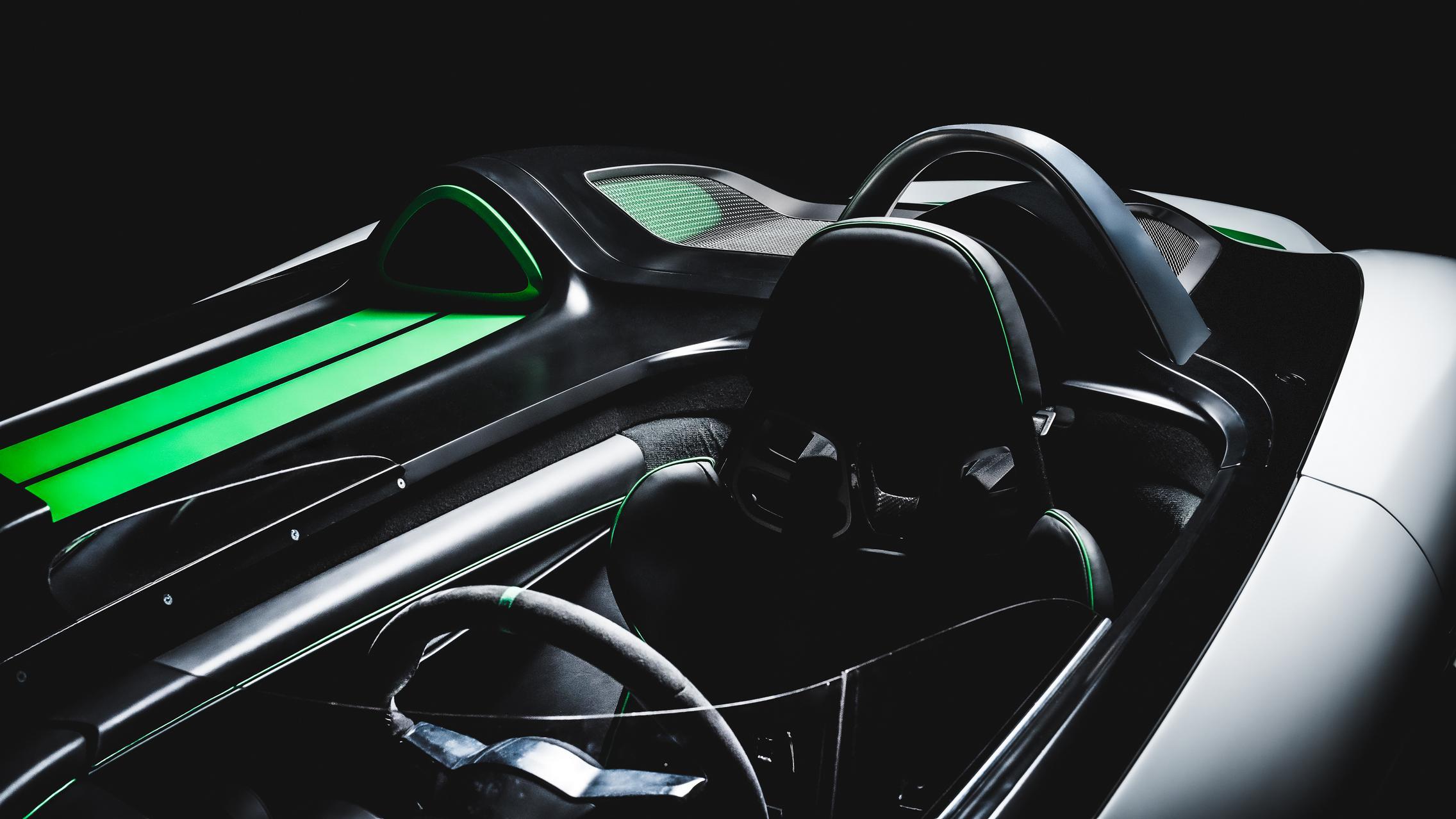 Porsche Boxster Bergspyder Seats