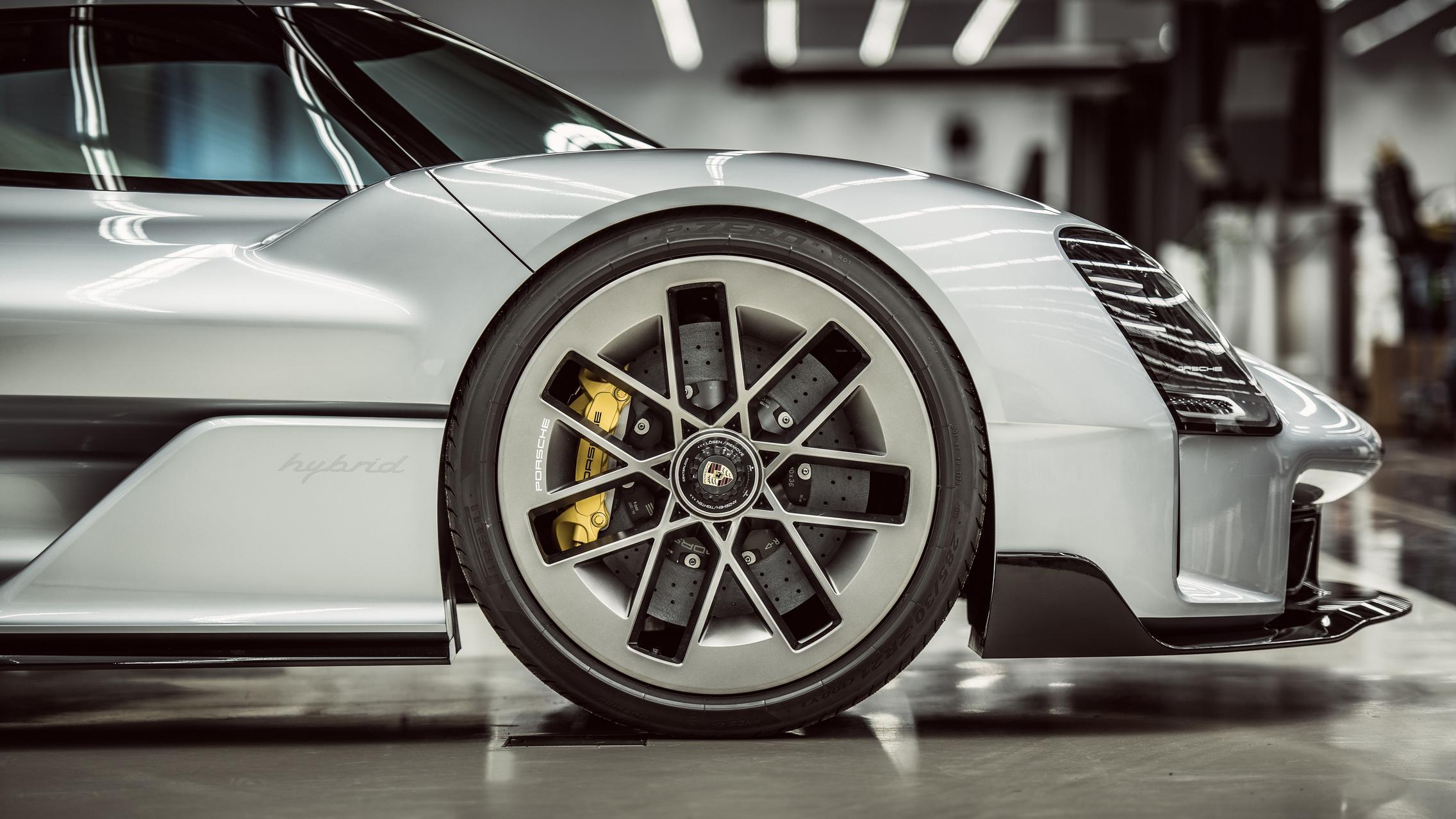 Porsche 919 Street wheels