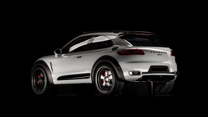 Porsche Macan Vision Safari rear