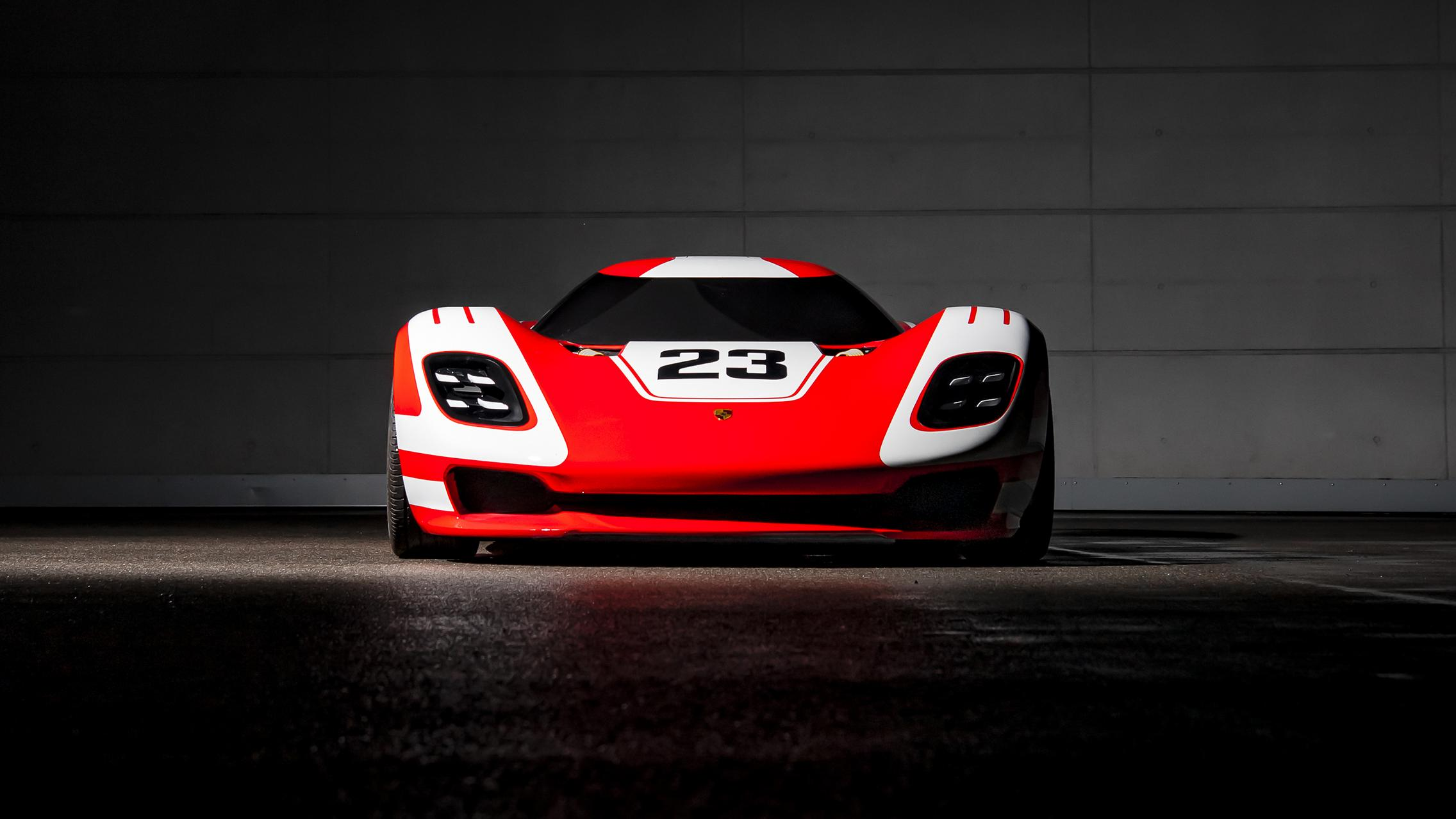 Porsche 917 Living Legend front