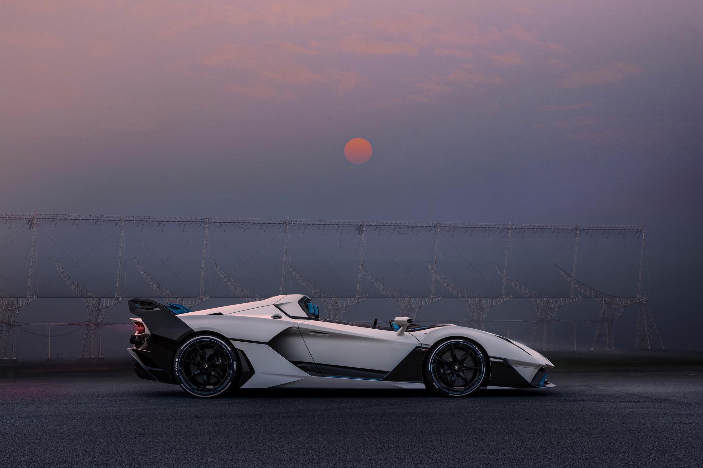 Lamborghini SC20 side