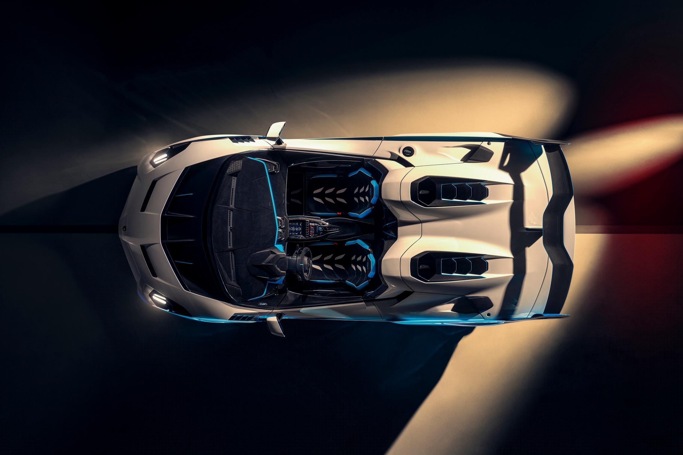 Lamborghini SC20 roof