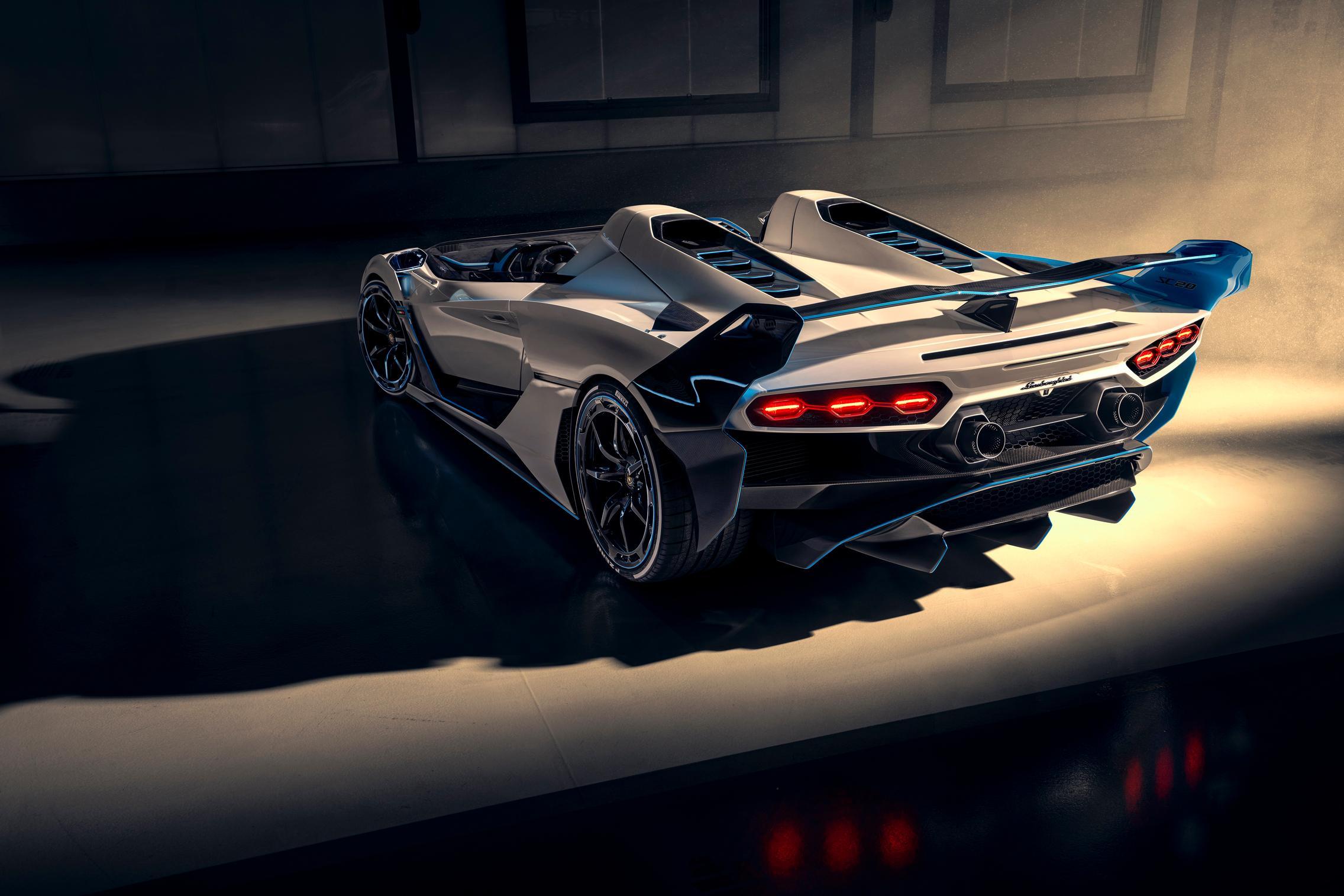 Lamborghini SC20 wallpaper