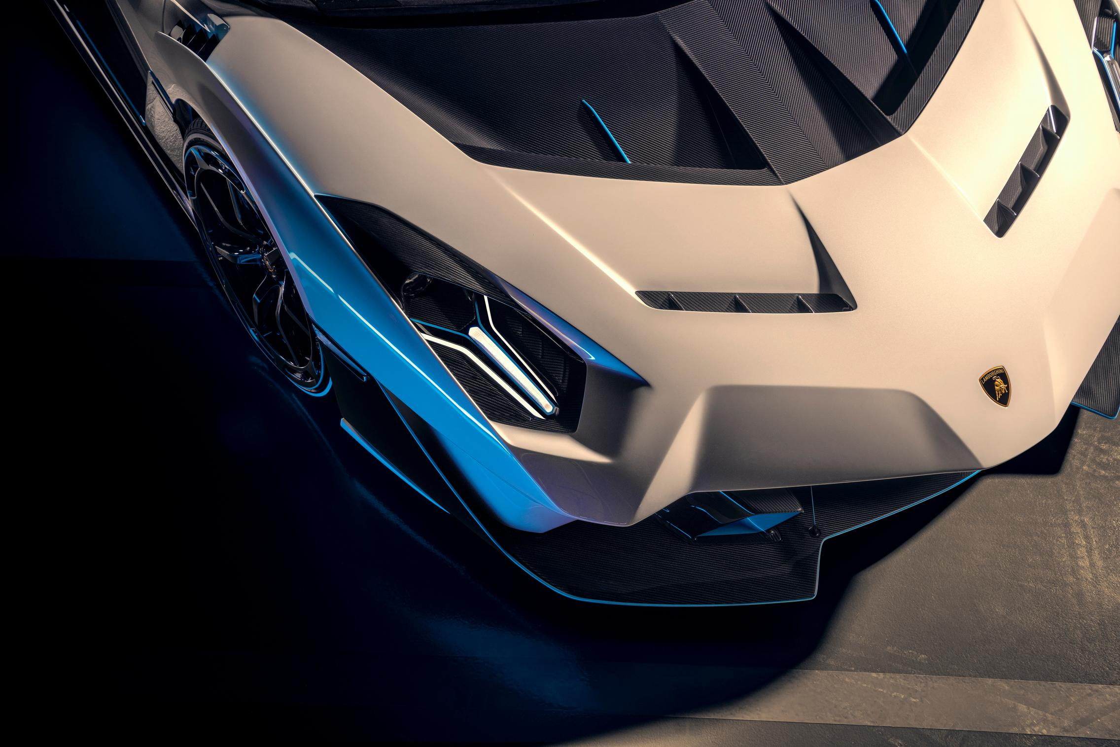 Lamborghini SC20 headlight