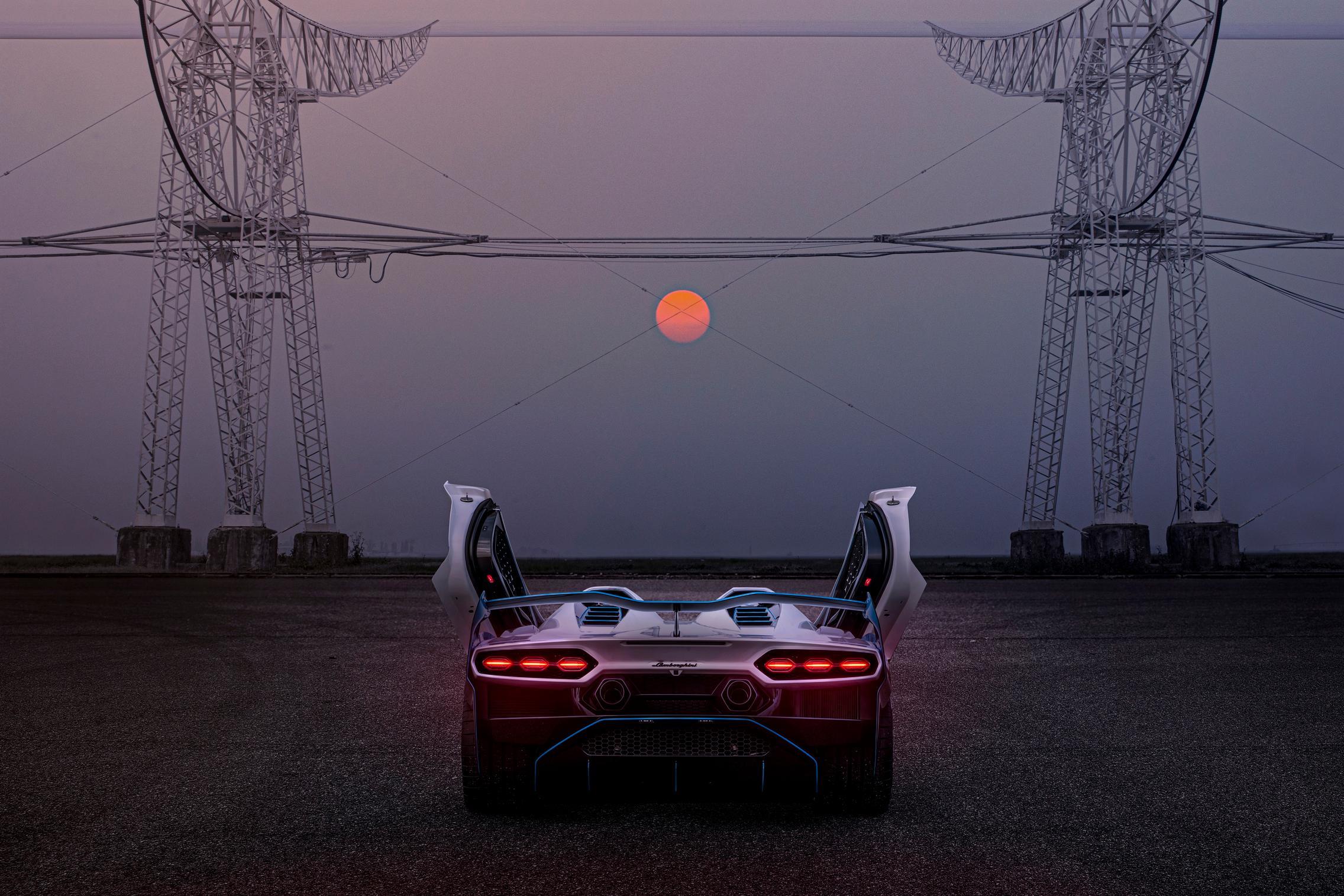 Lamborghini SC20 rear