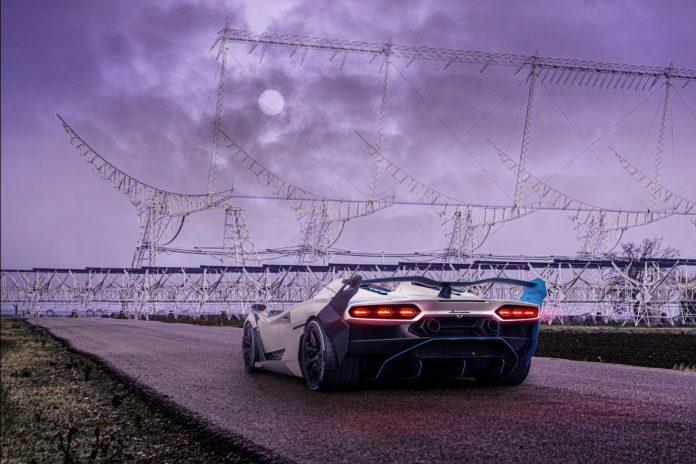 Lamborghini SC20 rear lights
