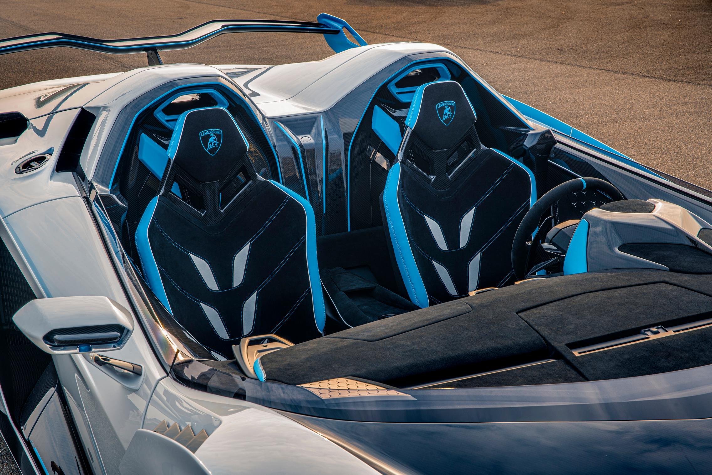 Lamborghini SC20 colors