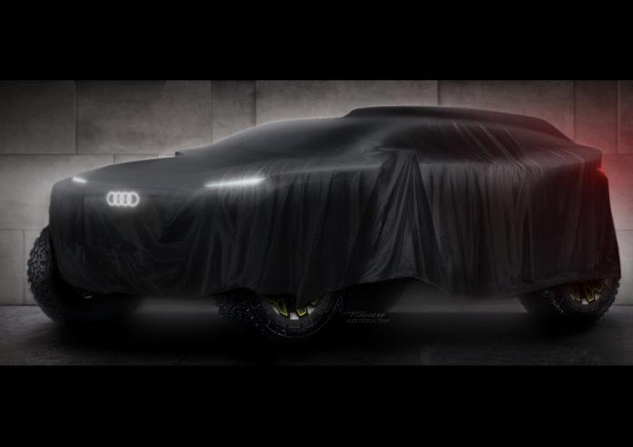 Audi Dakar Rally 2022