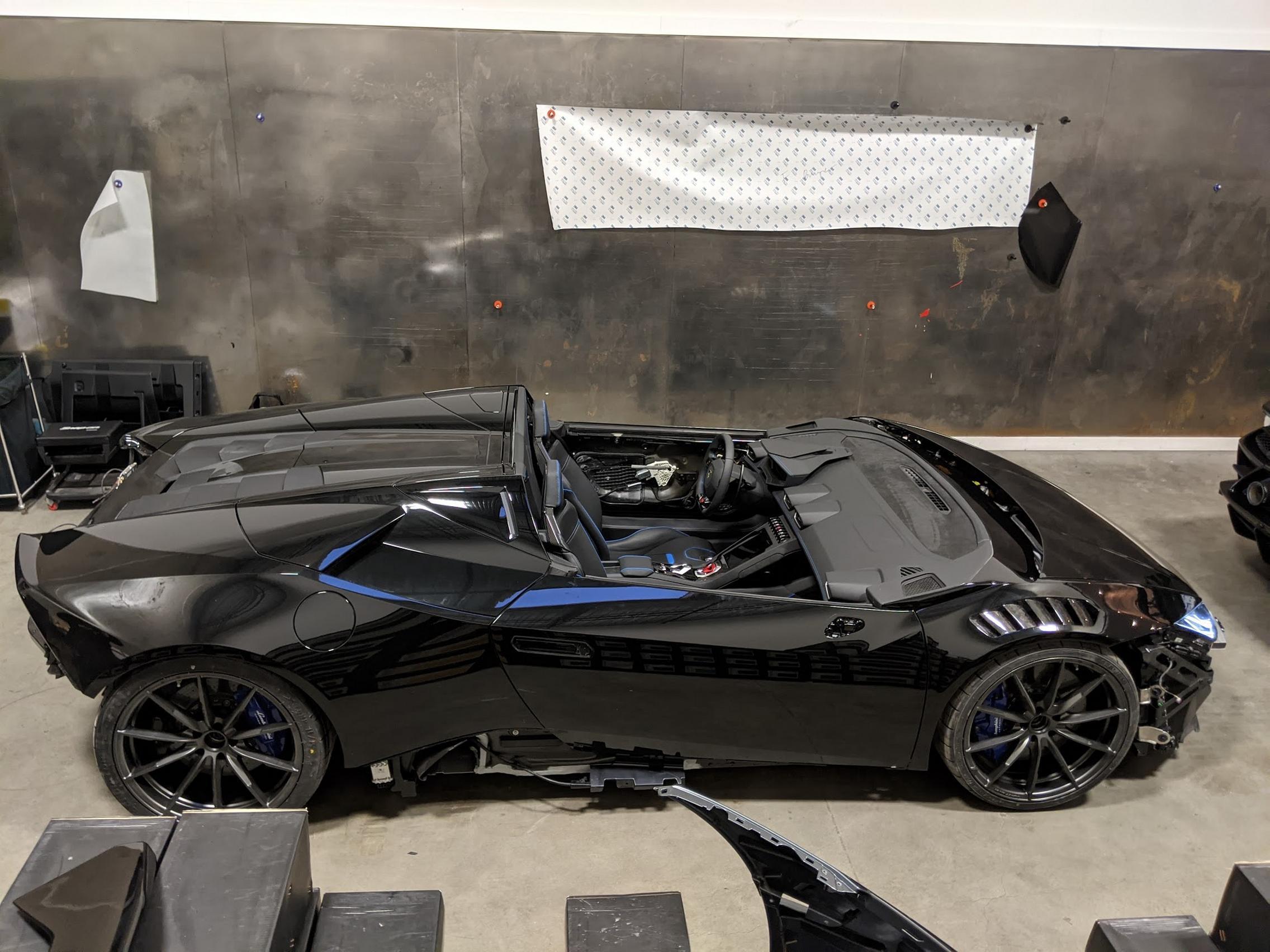 DDE Lamborghini Huracan Aperta