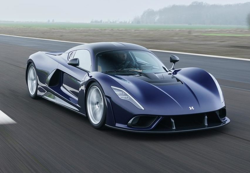 Blue Hennessey Venom F5