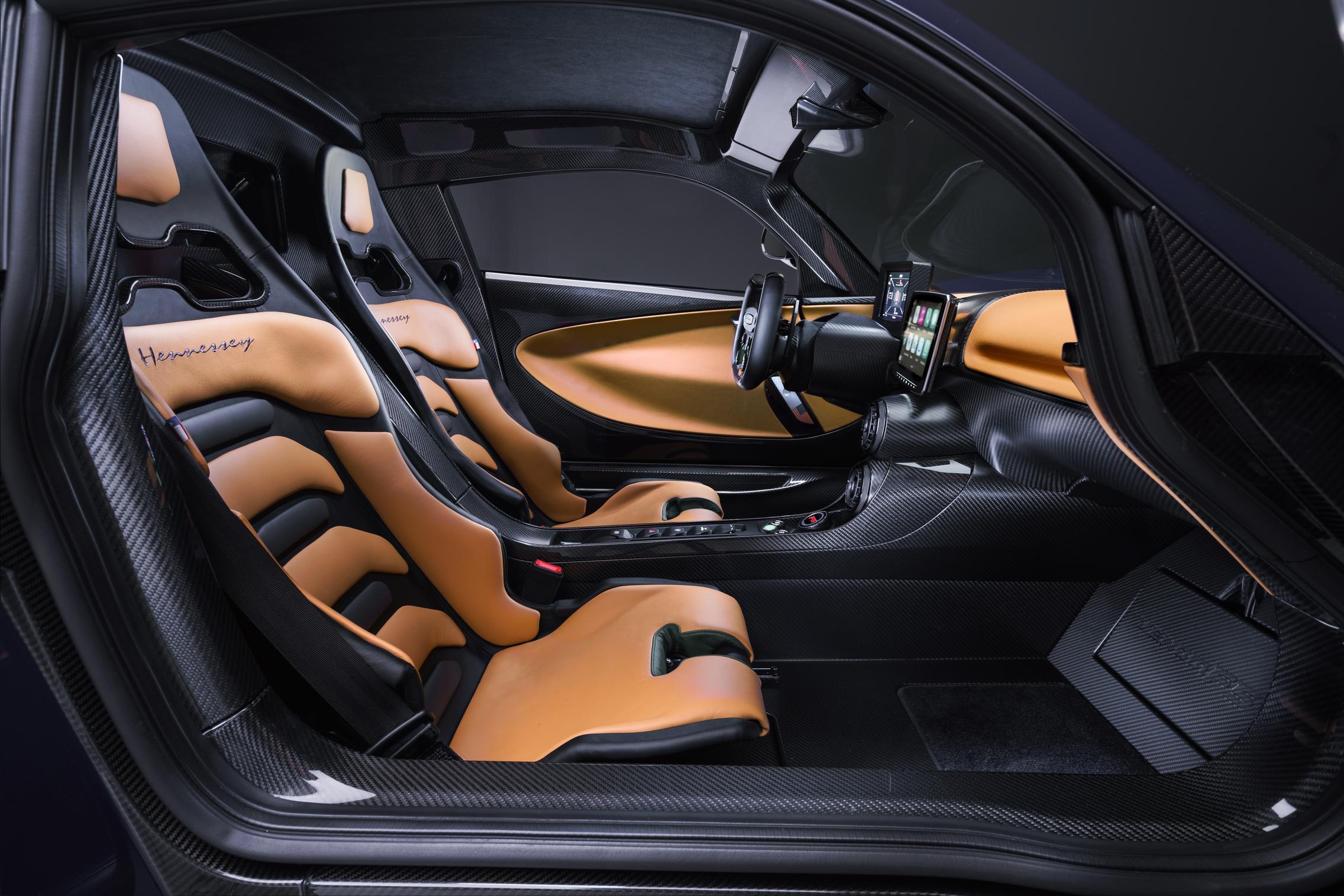 Hennessey Venom F5 Seats