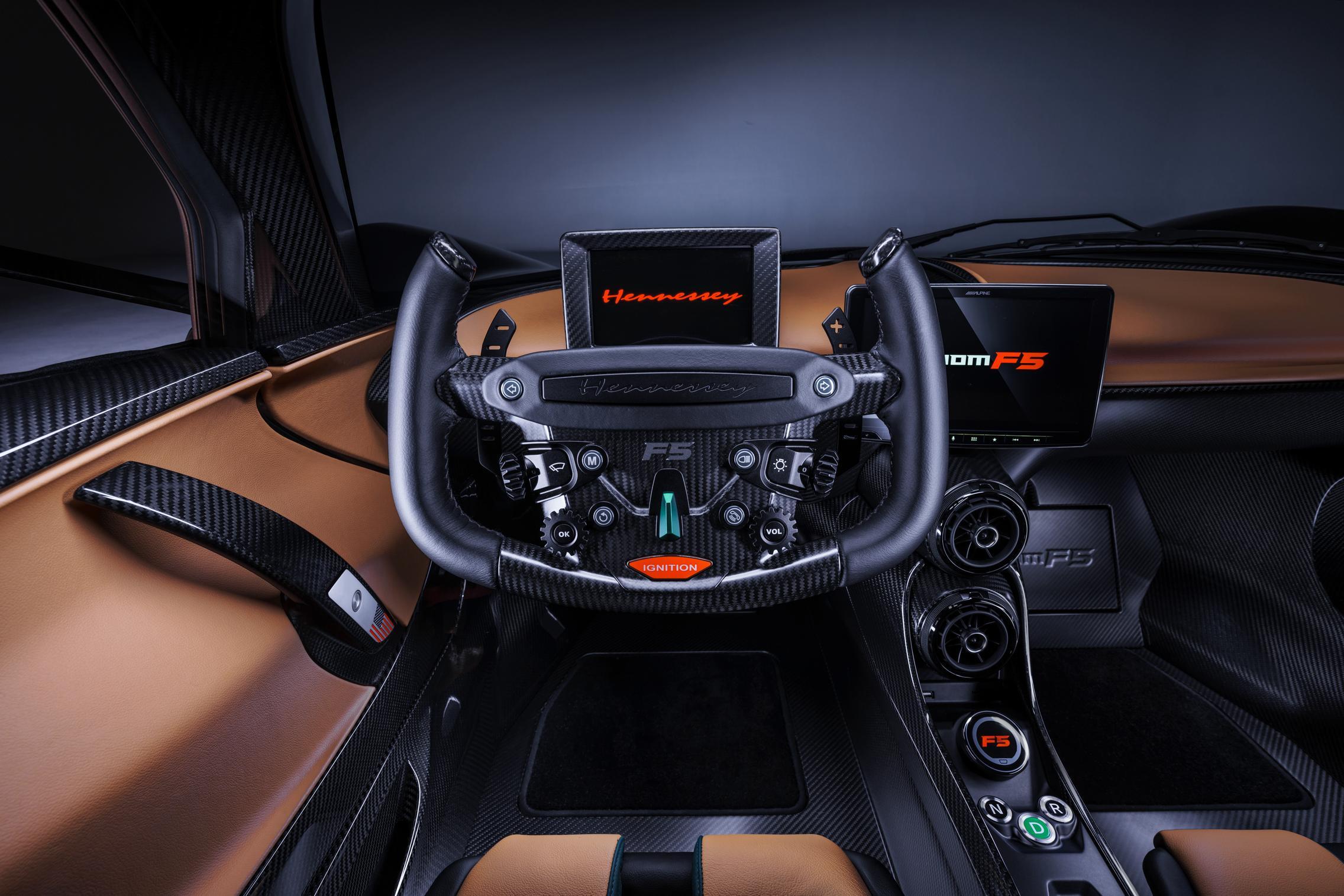 Hennessey Venom F5 Steering Wheel