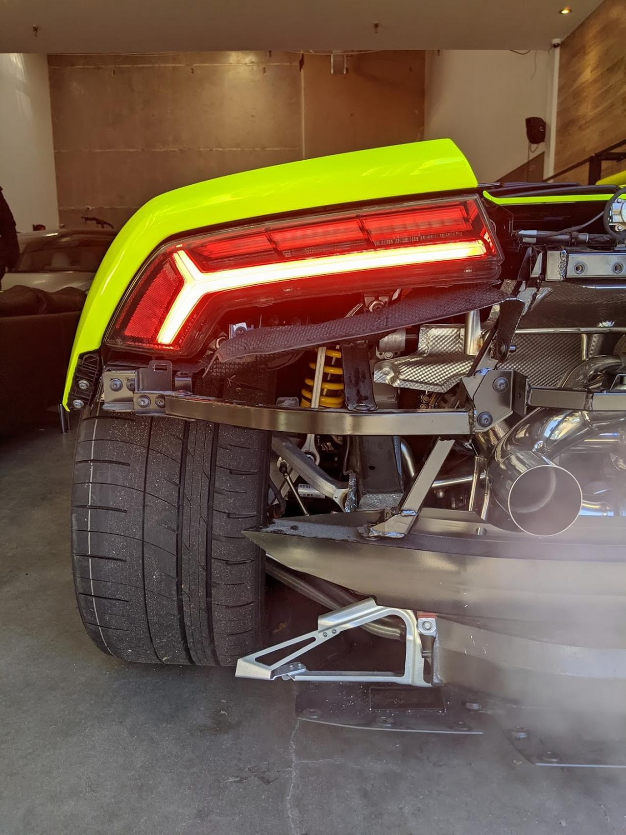 Huracan Rear Lights