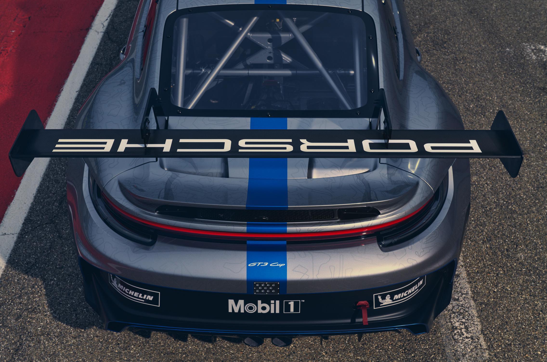 2021 Porsche 992 GT3 Cup Wing