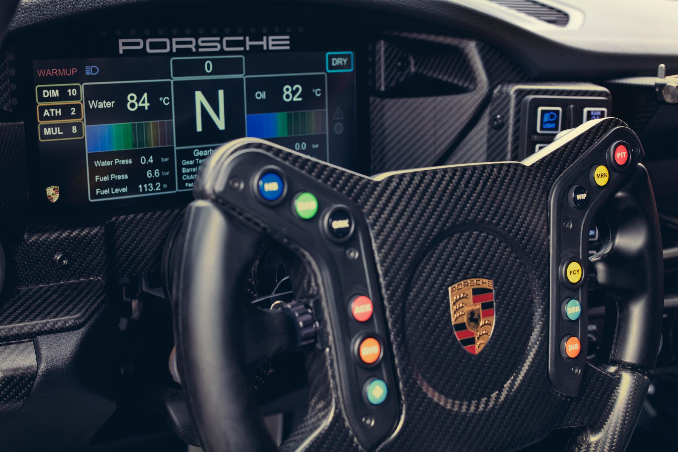 GT3 Cup Steering Wheel