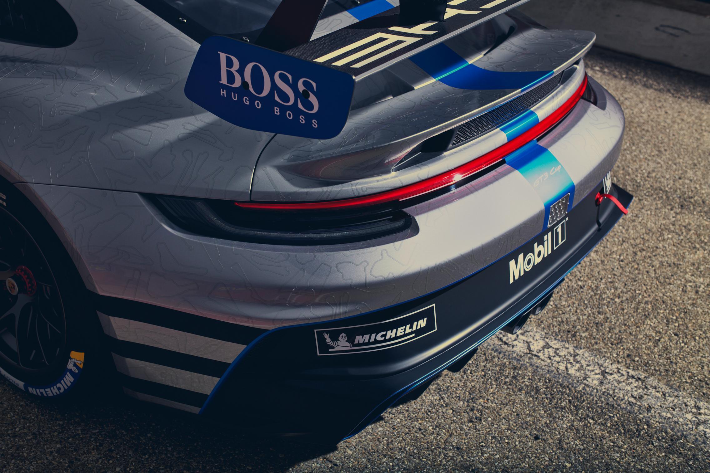 992 GT3 Cup Rear Wing