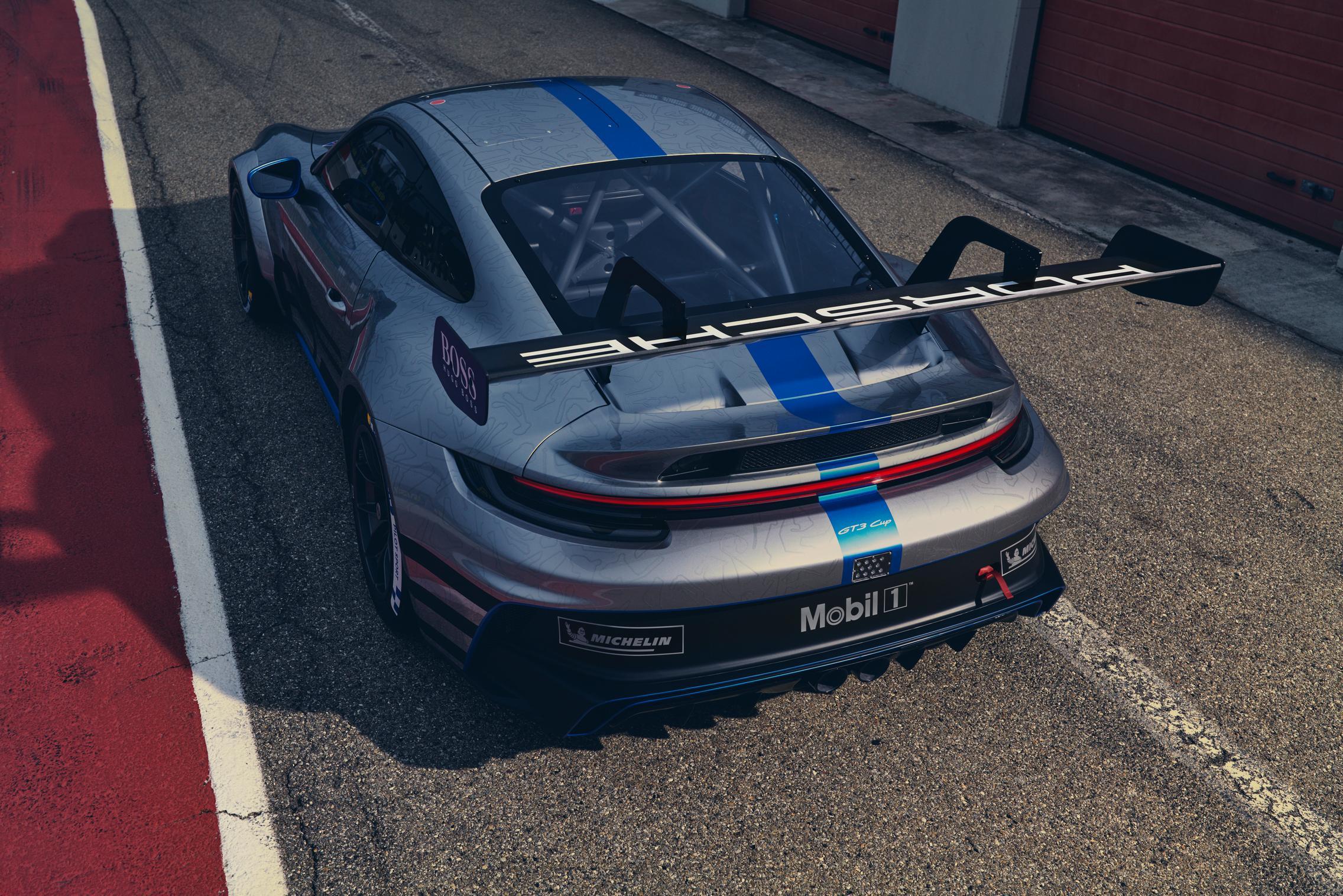992 GT3 Cup Specs