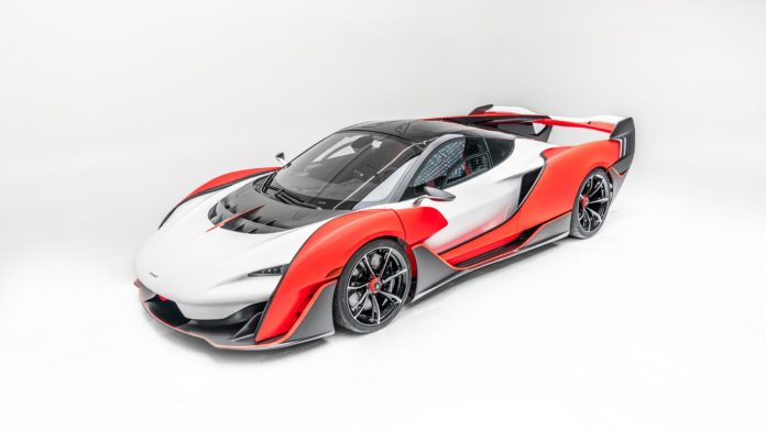McLaren Sabre: New Hypercar Revealed for US Market Only