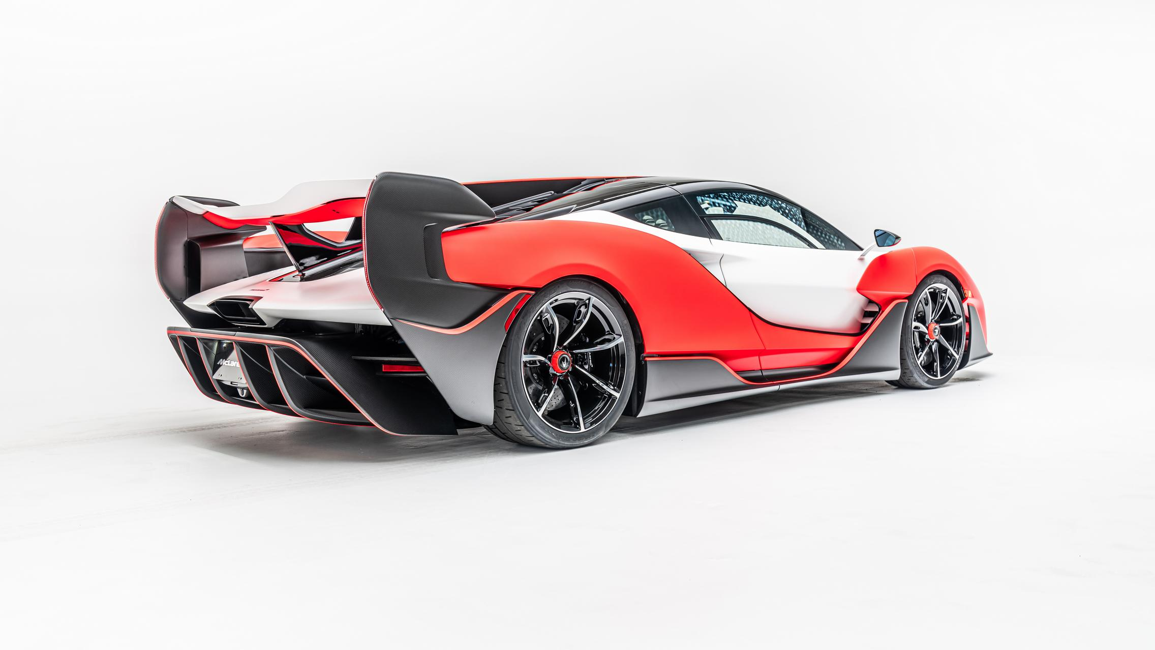McLaren Sabre Rear