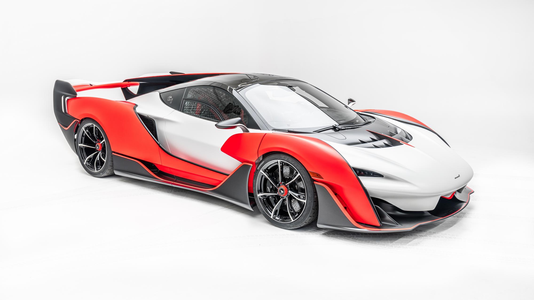 McLaren Sabre front
