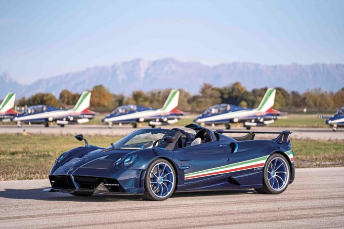 Pagani Huayra Tricolore Revealed with a $6.7 Million Price Tag!