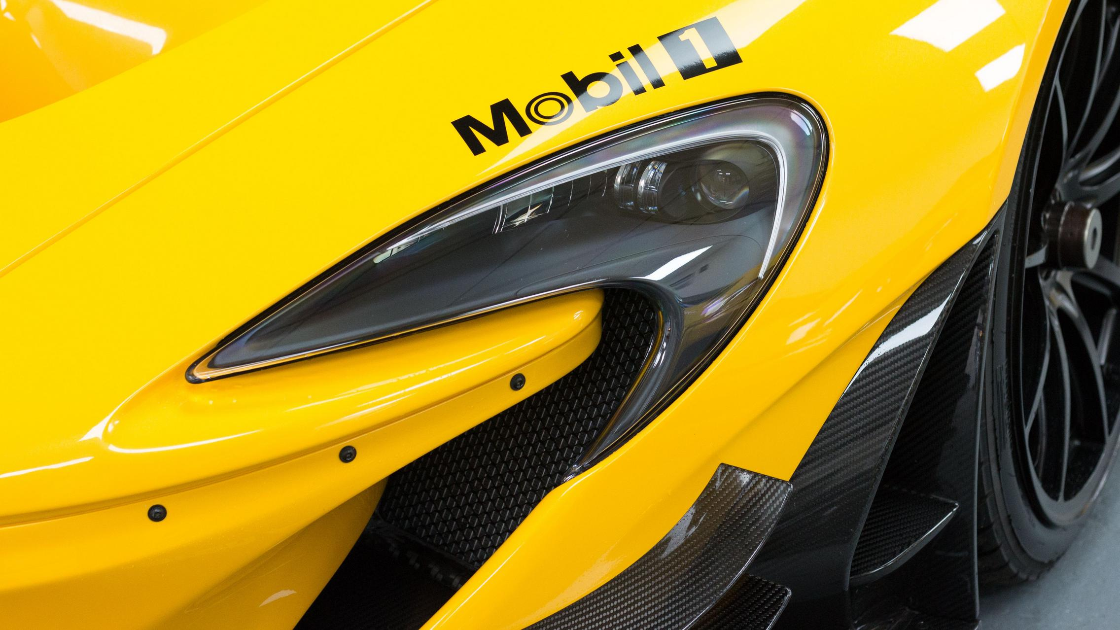Yellow P1 GTR Headlight