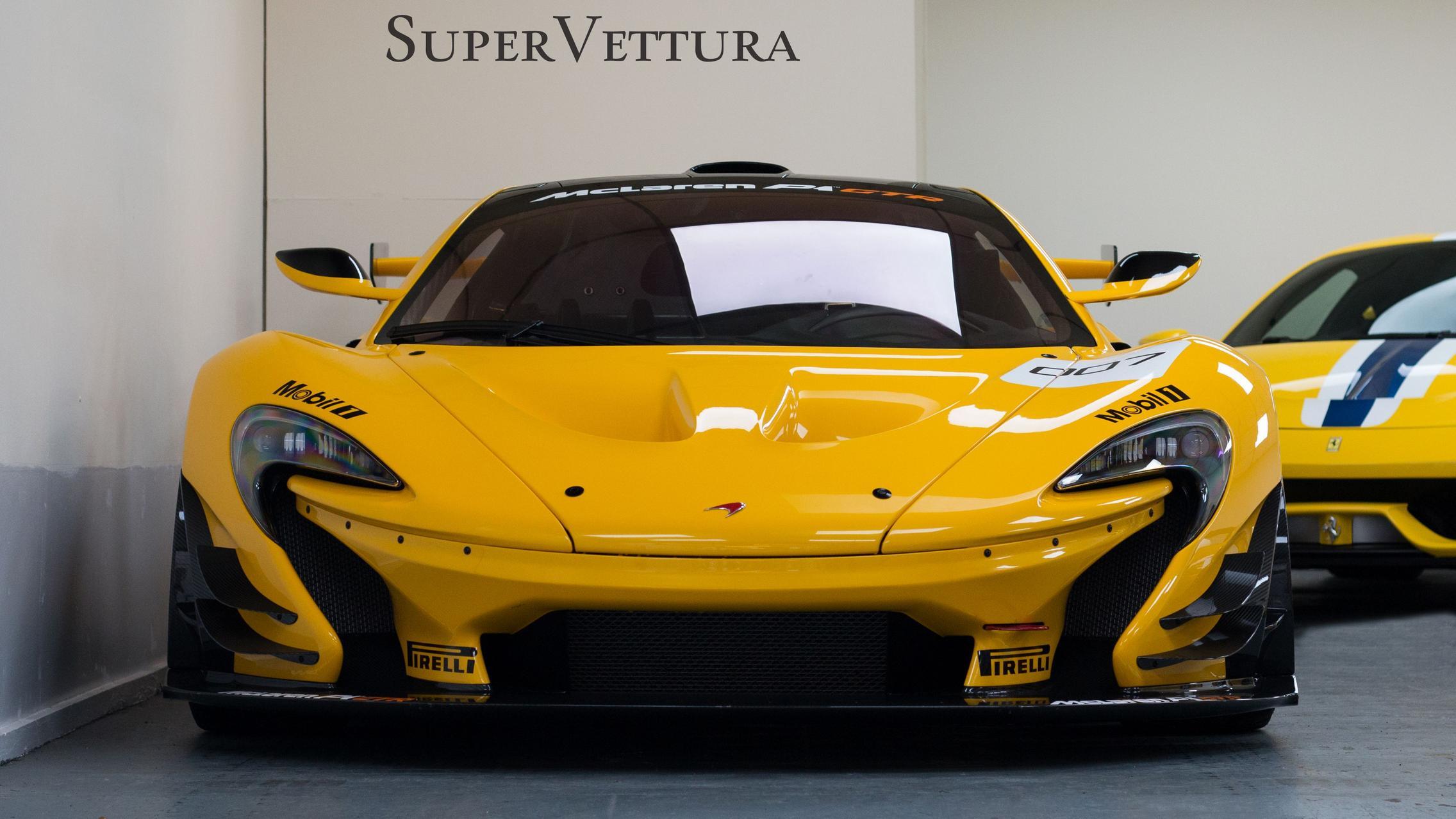 Yellow P1 GTR Front