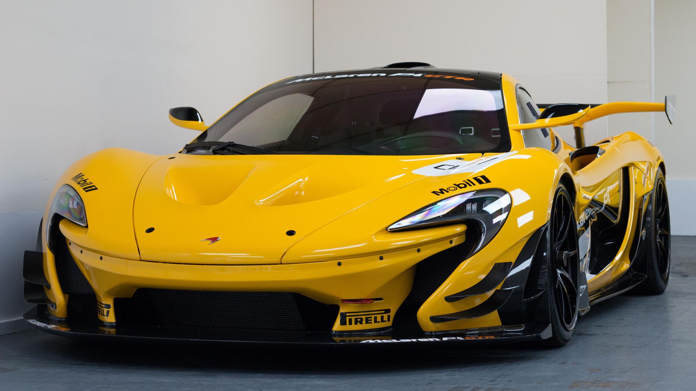 Yellow P1 GTR