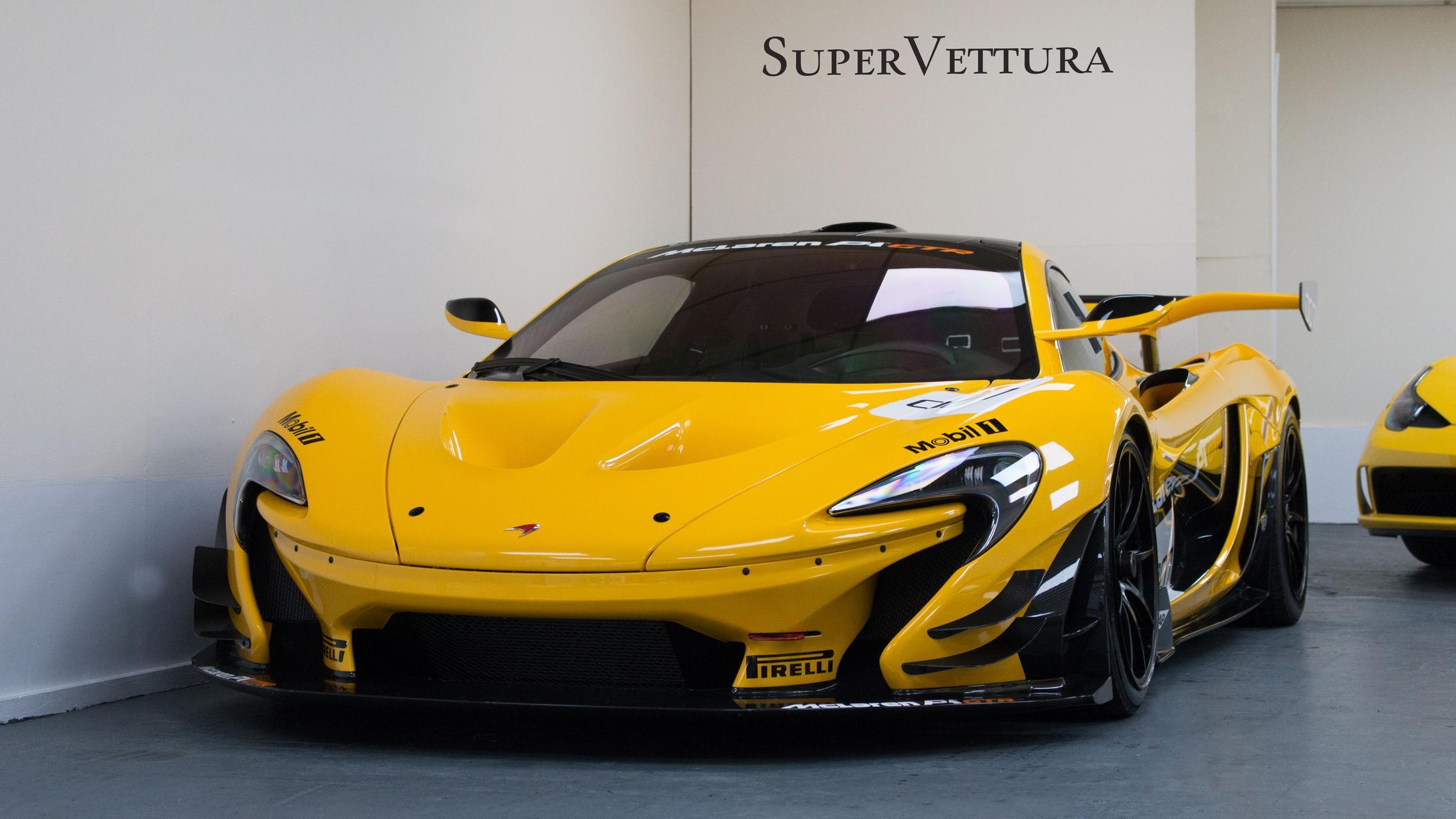 McLaren P1 GTR Volcano Yellow
