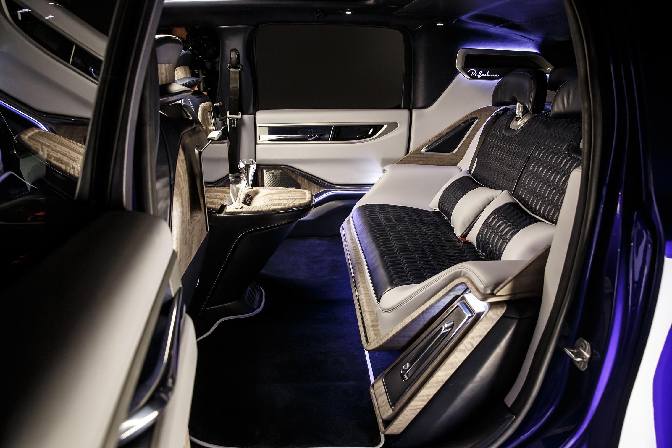 Custom car interior c