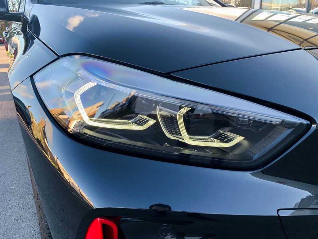 2021 BMW 128ti headlight