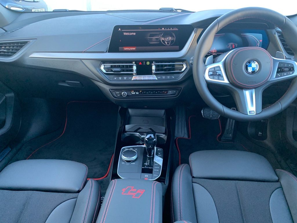 2021 BMW 128ti interior